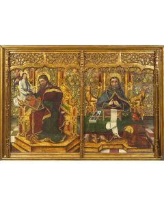715-ESCUELA CASTELLANA S. XV. Círculo de Fernando Gallego (ca. 1440-1507)